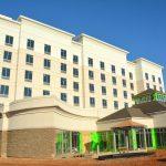 Vista de la construcción exterior de Carolina del Sur New Hotel Construction Contractors MEP Pintura y revestimiento de paredes