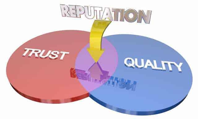 Reputación de confianza y calidad de las empresas de construcción comercial