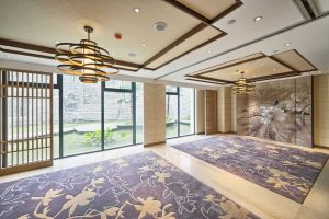 South Carolina Senior Living Construction with Carpet and Beautiful Design