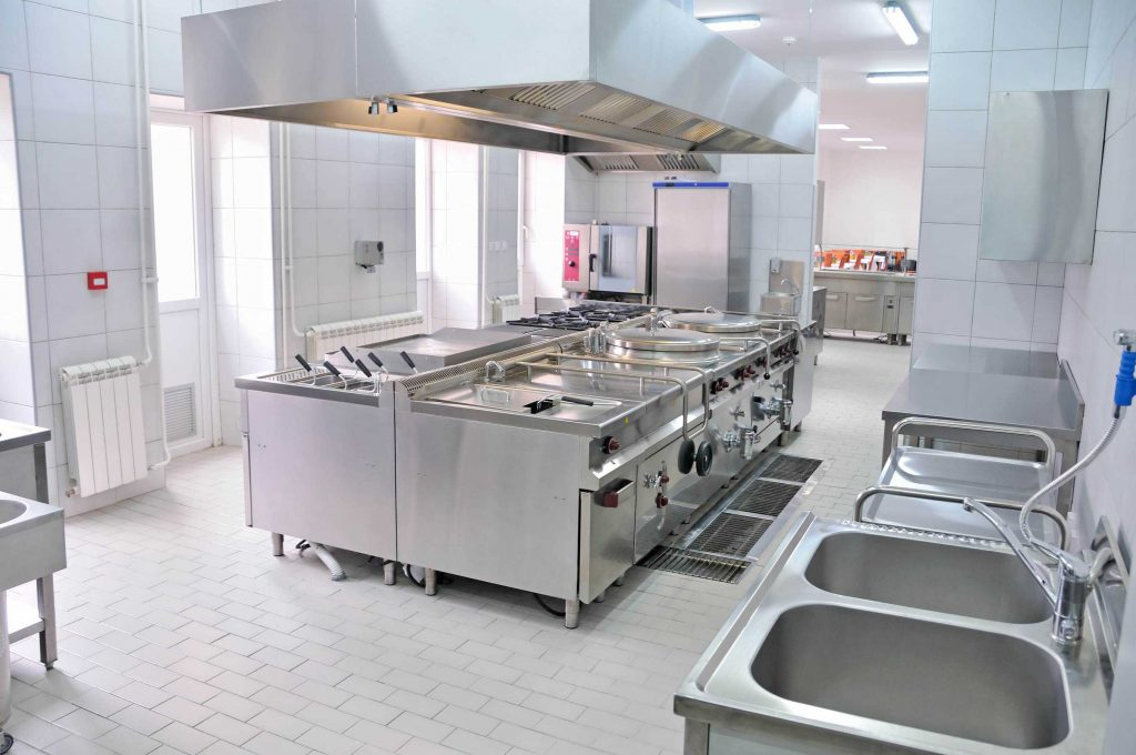 New kitchen for Virginia restaurant construction remodeling services