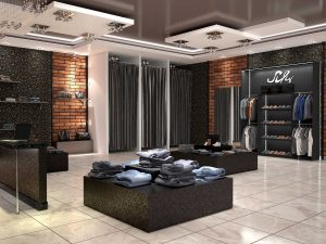 retail store remodeling contractor space and flow design