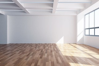 commercial property refurbishment of hardwood flooring
