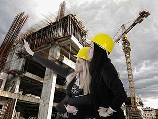 city planners discuss commercial building construction cost image