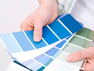 renovating office space starts with choosing color for office wall covering