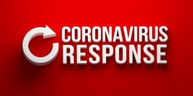 pintura mep coronavirus respuesta gran pancarta