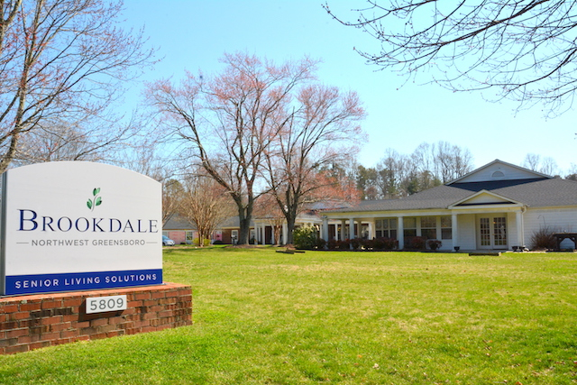 brookdale senior living commercial remodeling project in greensboro mep services