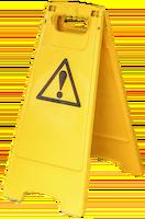 señal de advertencia de construcción