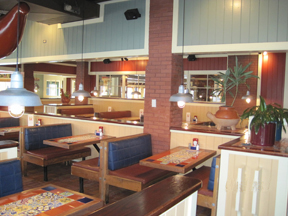 interior restaurant remodeling contractor work by mep