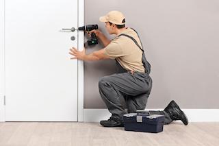 Mep enmarcado de puertas contratista experto acabado perilla de puerta cromada